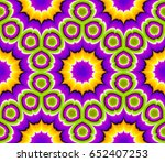 abstract floral background.... | Shutterstock .eps vector #652407253