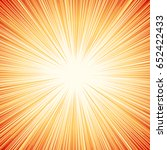 starburst  sunburst  rays of... | Shutterstock .eps vector #652422433