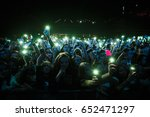moscow 30 march 2017  concert... | Shutterstock . vector #652471297