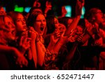 moscow 30 march 2017 wild crowd ... | Shutterstock . vector #652471447