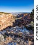 Panorama Of Colorado National...
