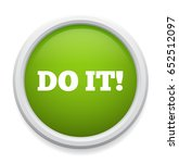 do it button | Shutterstock .eps vector #652512097