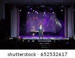 texture blur scene multicolored ... | Shutterstock . vector #652532617