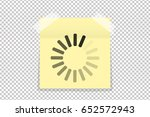download or loading sign on... | Shutterstock .eps vector #652572943