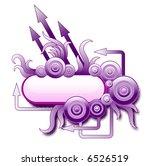 violet arrows   Shutterstock .eps vector #6526519