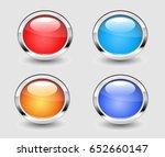 web buttons | Shutterstock .eps vector #652660147