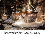 rock salt nan thailand | Shutterstock . vector #652665307