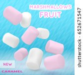 Marshmallow White And Pink On...