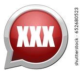 sex   xxx icon | Shutterstock .eps vector #652680523
