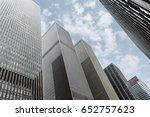new york  usa   may 1  2016 ... | Shutterstock . vector #652757623