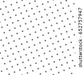 black repeated stylized squares ... | Shutterstock .eps vector #652757947