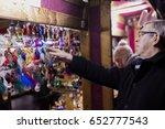 prague  cz   december 15  2016  ... | Shutterstock . vector #652777543