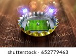 football championship in the... | Shutterstock . vector #652779463