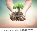 world environment day concept ... | Shutterstock . vector #652822873