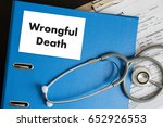 Small photo of Wrongful Death Doctor talk and patient medical working at office