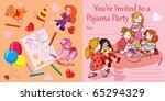 vector illustration  party... | Shutterstock .eps vector #65294329