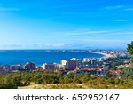 view on bay of sunny beach... | Shutterstock . vector #652952167