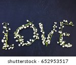 love lily of the valley.... | Shutterstock . vector #652953517