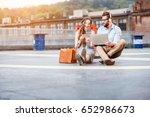 modern businessman and... | Shutterstock . vector #652986673