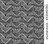 seamless vector pattern. black...   Shutterstock .eps vector #653040583
