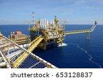 gulf of thailand  thailand  ... | Shutterstock . vector #653128837