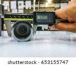 measurement tool quality... | Shutterstock . vector #653155747