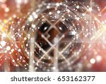 abstract beautiful bright... | Shutterstock . vector #653162377