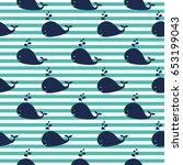 seamles vector pattern. vector... | Shutterstock .eps vector #653199043