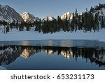 Mountains Reflected In A Pool...