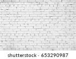 abstract weathered texture... | Shutterstock . vector #653290987