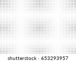 abstract halftone dotted... | Shutterstock .eps vector #653293957