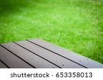 place your product here | Shutterstock . vector #653358013