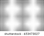 abstract halftone dotted... | Shutterstock .eps vector #653473027