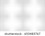 abstract halftone dotted... | Shutterstock .eps vector #653483767