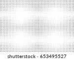 abstract halftone dotted... | Shutterstock .eps vector #653495527