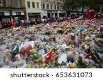 manchester  uk. may 27th  2017. ... | Shutterstock . vector #653631073