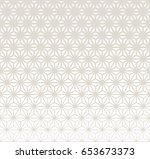 sacred geometry halftone...   Shutterstock .eps vector #653673373