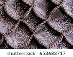 leather texture pattern... | Shutterstock . vector #653683717