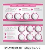 flyer banner or web header... | Shutterstock .eps vector #653746777