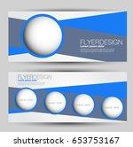 flyer banner or web header... | Shutterstock .eps vector #653753167