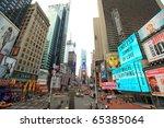 new york  usa   june 2010  the... | Shutterstock . vector #65385064