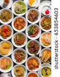 group picture of chinese cuisine | Shutterstock . vector #653854603