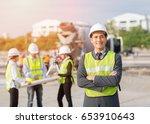 asian businessman asian... | Shutterstock . vector #653910643