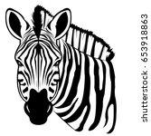 zebra | Shutterstock .eps vector #653918863