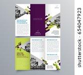 brochure design  brochure... | Shutterstock .eps vector #654047923