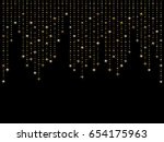 vector holiday background with... | Shutterstock .eps vector #654175963