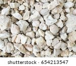 abstract small white stone... | Shutterstock . vector #654213547