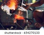 Blacksmith Handmade Fake Metal...