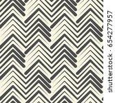 seamless zig zag background.... | Shutterstock .eps vector #654277957