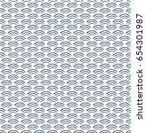 wave japanese seamless pattern. ... | Shutterstock .eps vector #654301987